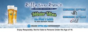 Winter Vibes with VinD @ Billy The Bums | Sandton | Gauteng | South Africa