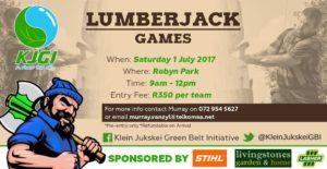 KJGI Lumberjack Games @ Klein Jukskei Greenbelt Initiative