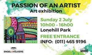 Passion of an Artist @ Lonehill Park | Sandton | Gauteng | South Africa