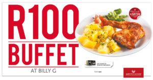 Billy G R100 Buffet @ Montecasino | Johannesburg | South Africa