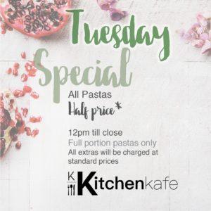 Kitchen Kafe - Tuesday Specials @ Kitchen Kafe | Sandton | Gauteng | South Africa