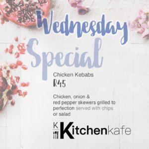 Kitchen Kafe - Wednesday Specials @ Kitchen Kafe | Sandton | Gauteng | South Africa
