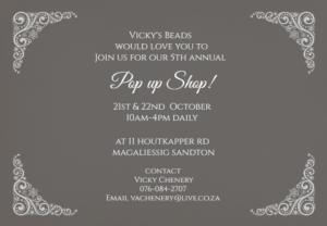 Vicky's Pop up shop @ 10am-4pm Daily  | Sandton | Gauteng | South Africa