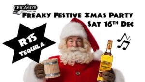 Chicago's 'Freaky Festive' Xmas party - R15 Tequila @ Chicago's Piano Bar | Randburg | Gauteng | South Africa
