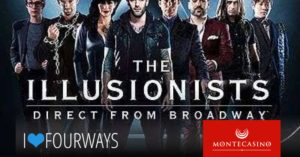 The Illusionists South Africa Tour @ Montecasino | Johannesburg | South Africa
