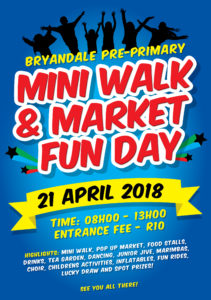 Bryandale Mini Walk and Market Fun Day @ Bryandale Primary School  | Sandton | Gauteng | South Africa
