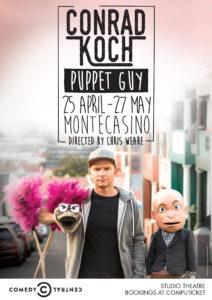 Puppet Guy @ Pieter Toerien Studio Theatre, Montecasino | Sandton | Gauteng | South Africa