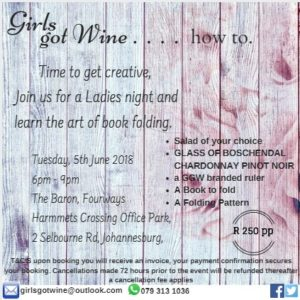 Girls Got Wine . . . How to! @ The Baron Fourways | Sandton | Gauteng | South Africa