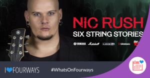 Nic Rush - Six Strings Stories @ The Barnyard Theatre Rivonia | Rivonia | Gauteng | South Africa