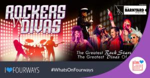 Rockers vs Divas, at Rivonia Barnyard @ The Barnyard Theatre Rivonia | Rivonia | South Africa