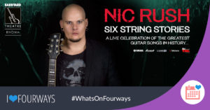 Six String Stories by Nic Rush, at Rivonia Barnyard @ The Barnyard Theatre Rivonia | Rivonia | South Africa