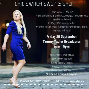 Chic Switch Swop & Shop @ Tammy Taylor Nails Broadacres  | Sandton | Gauteng | South Africa