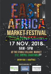 EAST Africa Market  festival @ The Stable Village Market  | Chartwell | Gauteng | South Africa