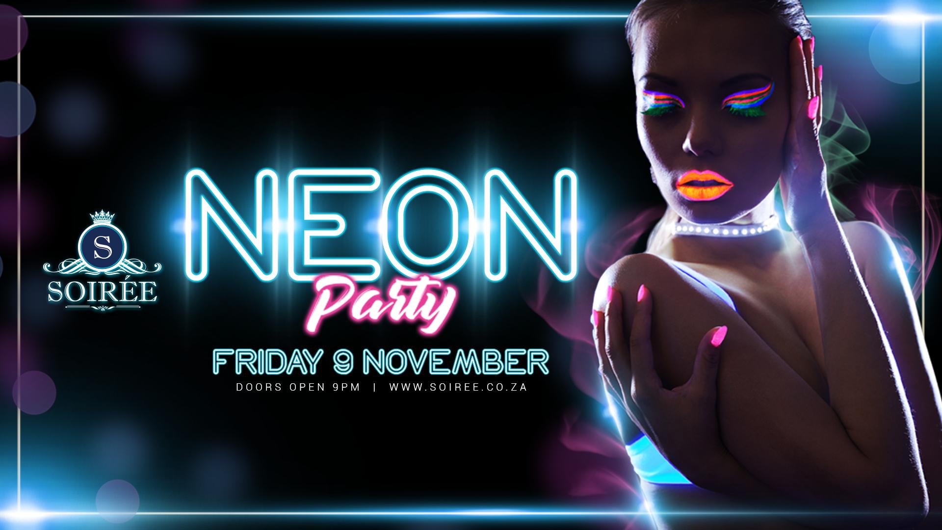 Neon Party at Soirée - I Love Fourways