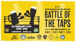SANBeer Day: Battle of the Taps #atBEERHOUSE Fourways @ Beerhouse Fourways  | Sandton | Gauteng | South Africa