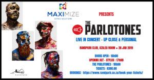 The Parlotones Live in Concert - Up Close & Personal @ Randpark Golf Club | Randburg | Gauteng | South Africa