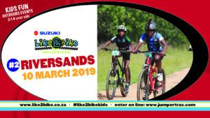 Like2Bike Kids Event #2, with Suzuki @ Riversands Farm Village