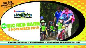 LIke2Bike Kids event #6, with Suzuki @ The Big Red Barn | Olifantsfontein | Gauteng | South Africa