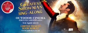 The Greatest Showman Sing-Along @ Montecasino | Sandton | Gauteng | South Africa