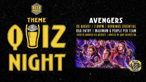 Avengers Movies Themed Quiz Night #atBEERHOUSE Fourways @ Beerhouse Fourways | Sandton | Gauteng | South Africa