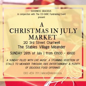 A Christmas in July Market @ The Stables Village Market