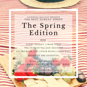 Sunday Series - The Spring Edition @ The Stables Village Market | Chartwell | Gauteng | South Africa