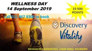 Discovery Vitality Day @ Broadacres Biokinetics @ Broadacres Biokinetics