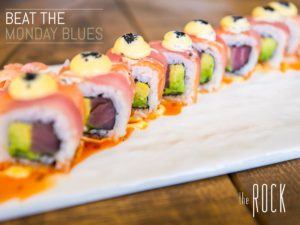 Half Price Sushi @ The Rock @ The Rock Diner | Sandton | South Africa
