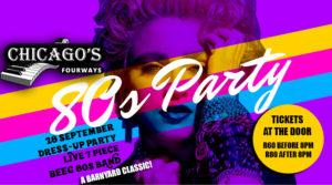 80's Dress up Party - Chicagos Fourways @ Chicago's Fourway's |  |  |