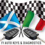 F1 Auto, Keys and Diagnostica